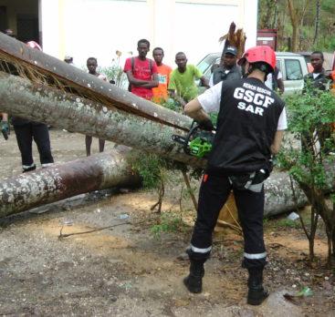 Les Pompiers Humanitaires Du GSCF Recrutent.